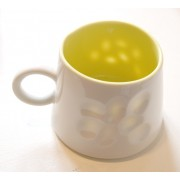 Porcelain Mug - Speckled - Yellow